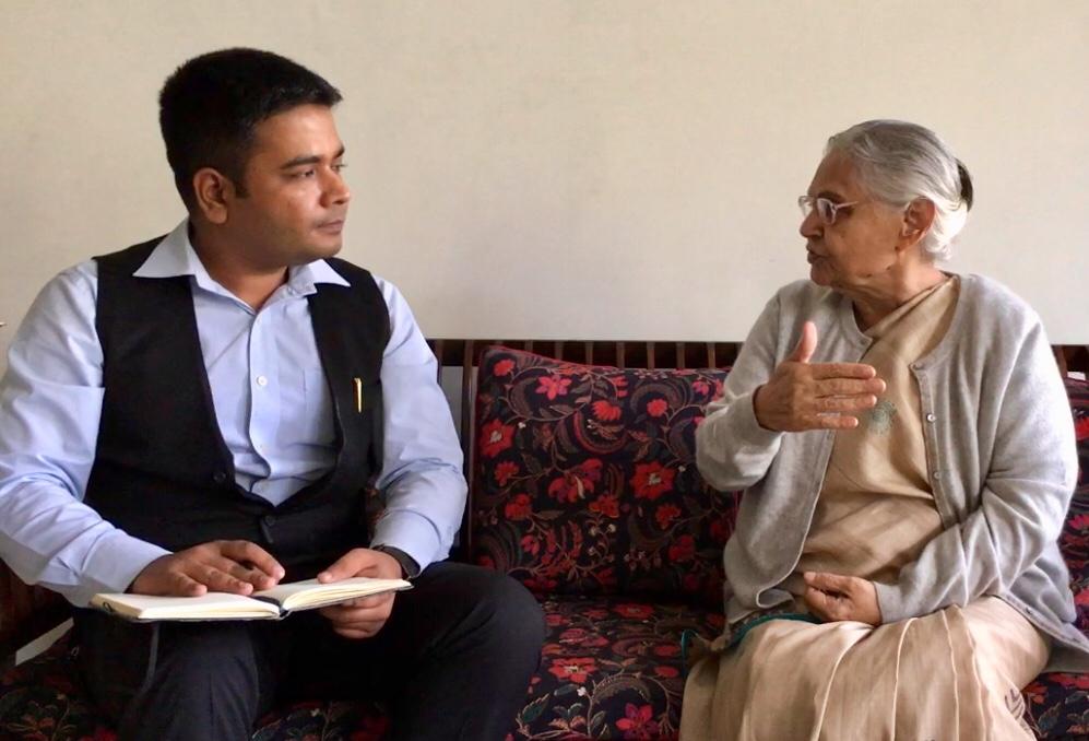 Sheila Dikshit, Anurag Sason