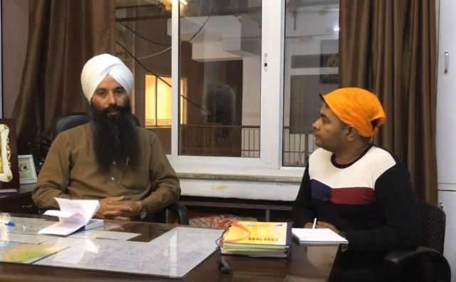 Sewa Singh, manager Hemkund Sahib in conversation with Anurag Sason