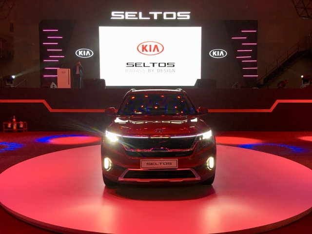 Kia Seltos launched in India on Thursday, 22/8/2019.