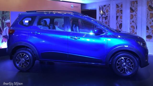 Renault Triber: Photo clicked by Anurag Sason