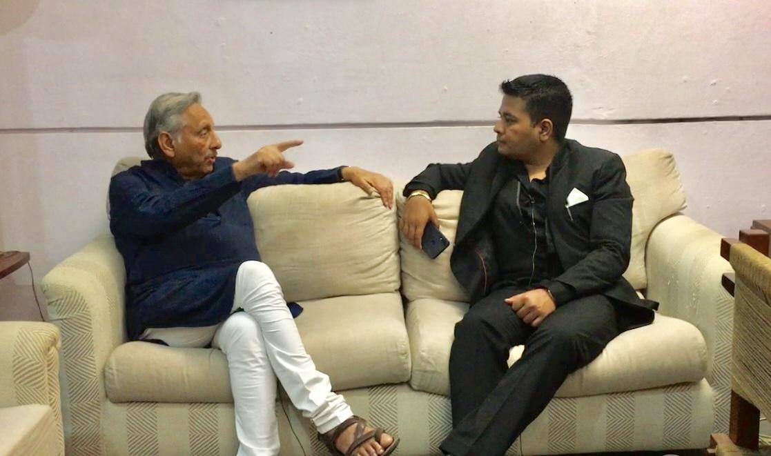 Monday Talk: Mani Shankar Aiyar in conversation with Anurag Sason