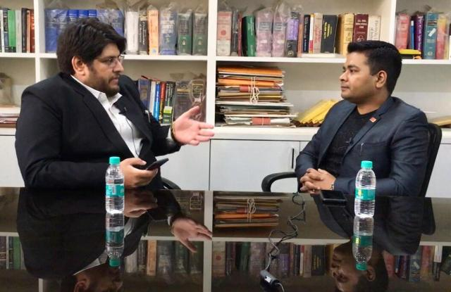 Monday Talk: Anurag Sason in conversation with Kameshwar Gumber