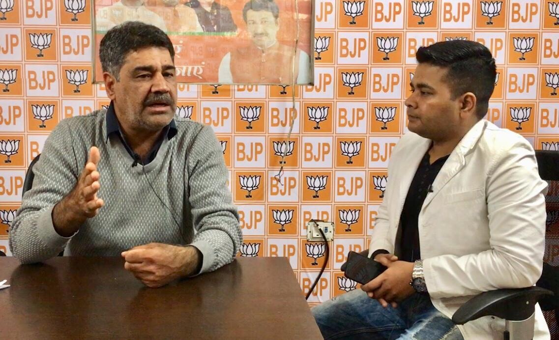 Monday Talk: Anurag Sason in conversation with Delhi BJP spokesperson Raj Kumar Bhatia