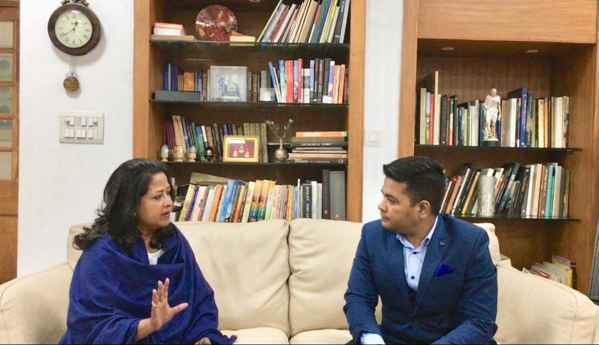 Monday Talk: Anurag Sason in conversation with Congress leader Sharmistha Mukherjee