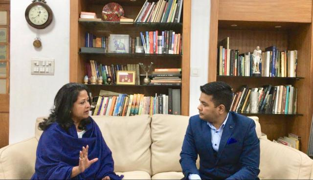 Monday Talk: Anurag Sason in conversation with Congress leader Sharmistha Mukherjee