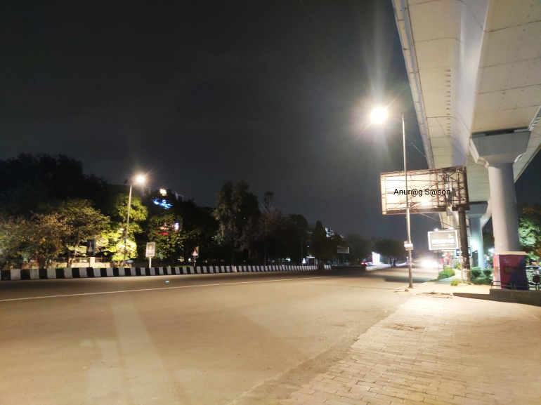 Coronavirus, Delhi, Anurag Sason, deserted road,