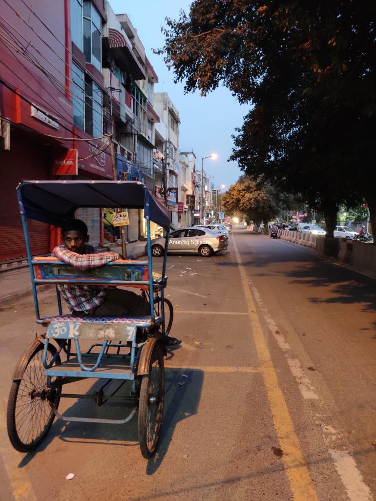 Coronavirus, Delhi, Anurag Sason, rickshaw wala,