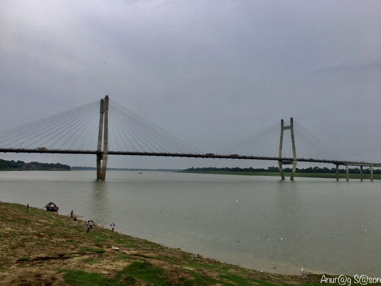 Pic of the day, New Yamuna Bridge, Prayagraj, Monsoon, Anurag Sason