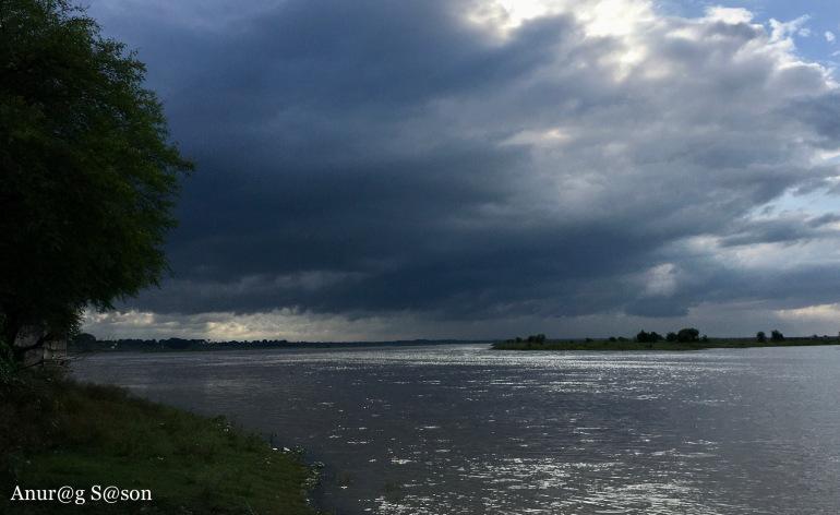 Pic of the day, Allahabad, Ganga river, Anurag Sason