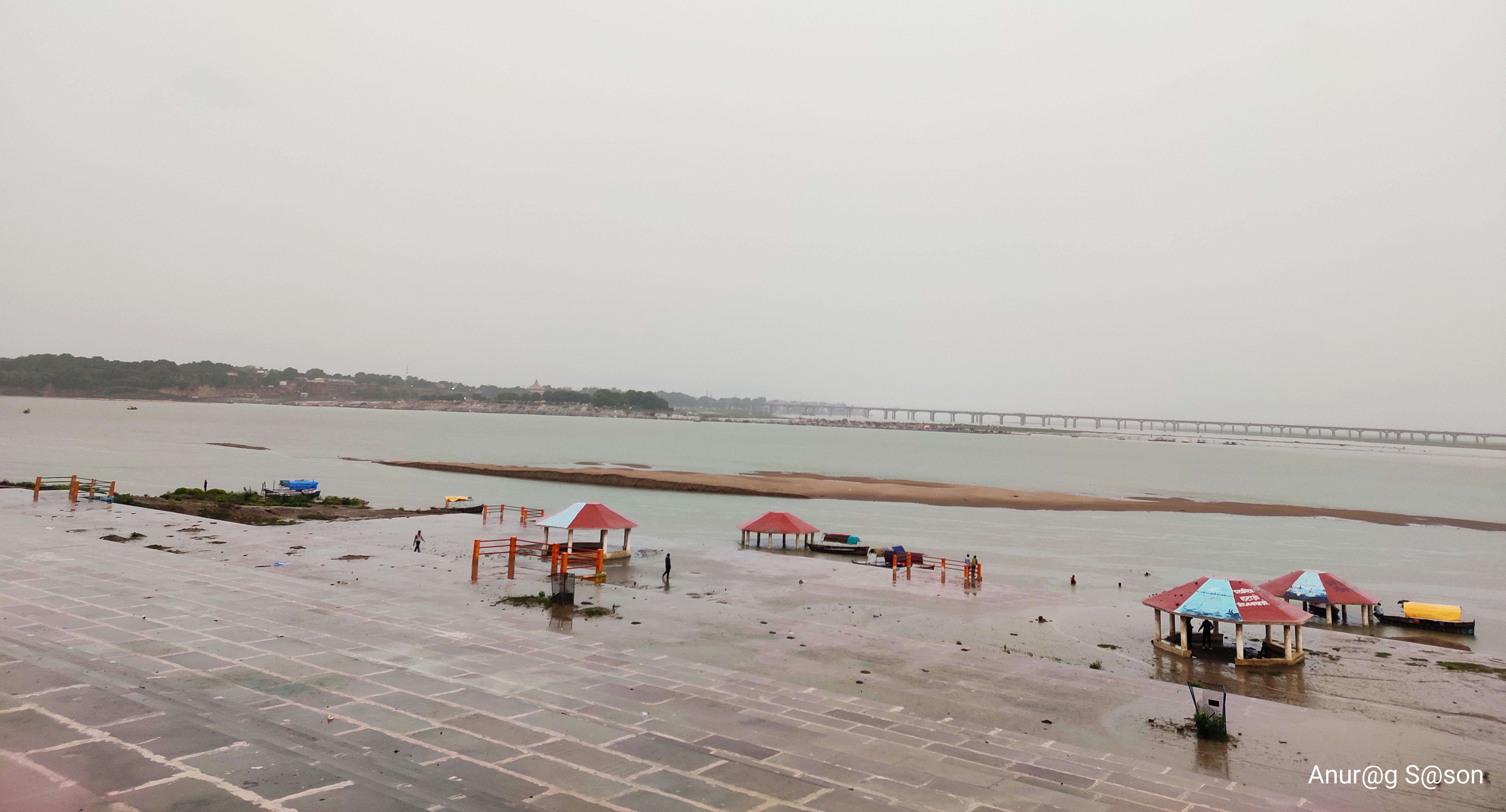 Pic of the day, Triveni Sangam, monsoon, Anurag Sason