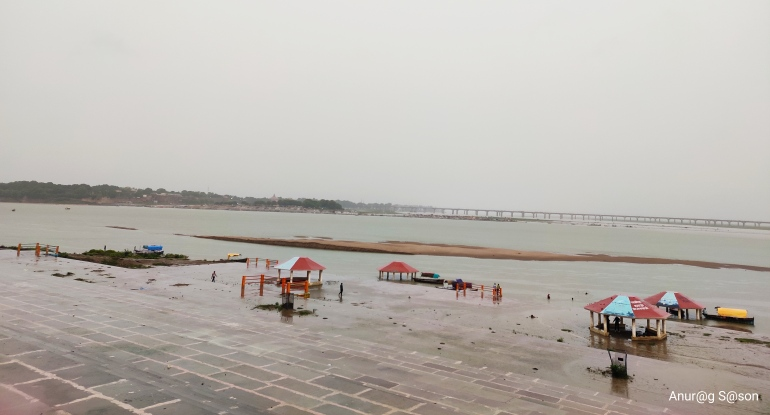 Pic of the day, Triveni Sangam, monsoon, Anurag Sason