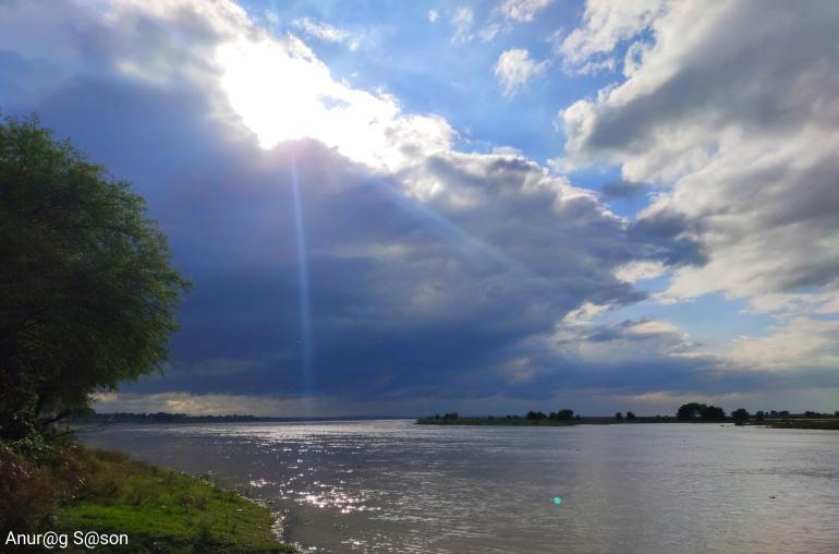 Pic of the day, Ganga river, Allahabad, Anurag Sason