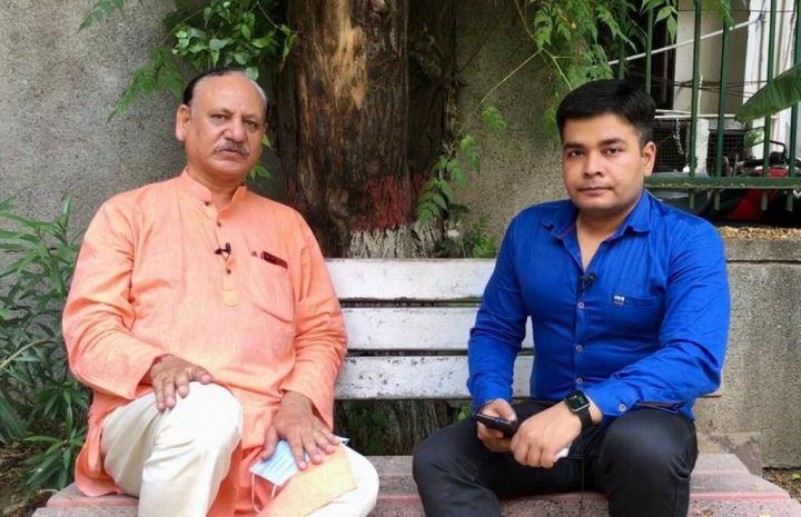 Monday Talk, Anurag Sason, interview, Deepak Kumar Gupta