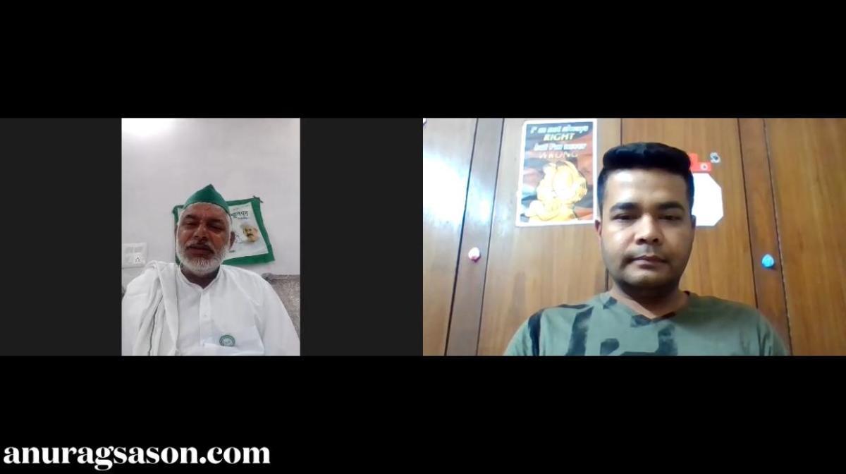 INTERVIEW, Monday Talk, BKU, Virender Dagar, Anurag Sason