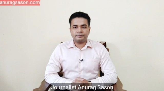 Journalist Anurag Sason