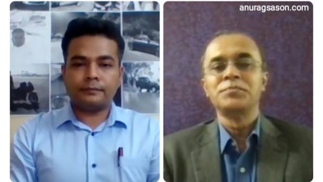 INTERVIEW, Monday Talk, India, self reliant, Kamal Nandi, Anurag Sason