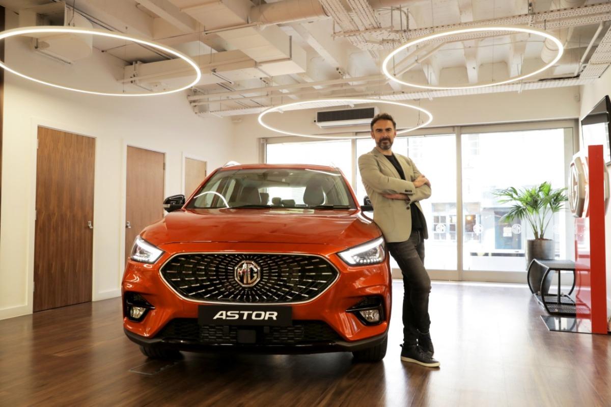 MG brings India's 1st SUV with AI Inside-MG Astor/Anurag Sason