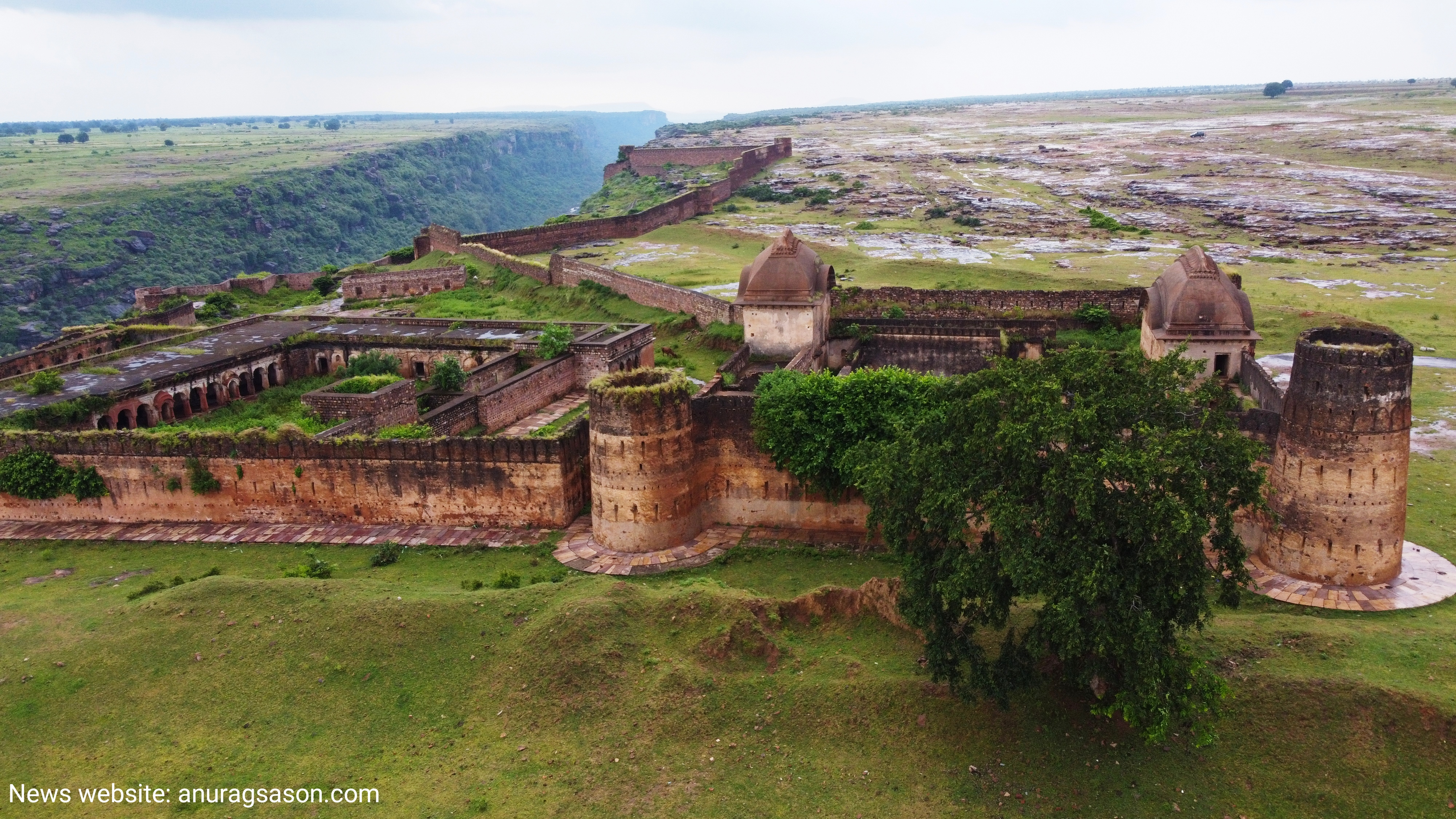 Keoti fort: A forgotten piece of history in Rewa, Madhya Pradesh. Photo clicked by journalist Anurag Sason. 10/Oct/2021